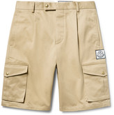 Moncler Gamme Bleu - Slim-fit Cotton-gabardine Cargo Shorts
