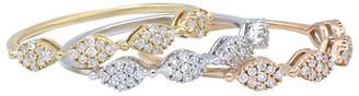 Diana M Fine Jewelry 14K Tri-Color 0.45 Ct. Tw. Diamond Ring
