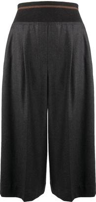 Brunello Cucinelli Flared Style Culottes