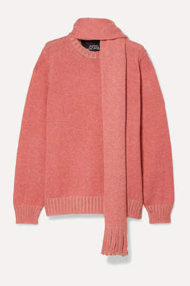 Marc Jacobs Runway Mohair, Wool, Silk, Cashmere And Alpaca-blend Sweater - Pink