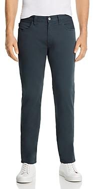 Giorgio Armani Emporio Regular Fit Jeans in Dark Gray