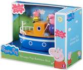 Peppa Pig Grandpa Pig's Bathtime Boat, Black