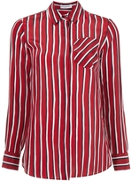 Altuzarra Chika Striped Shirt - Red and White