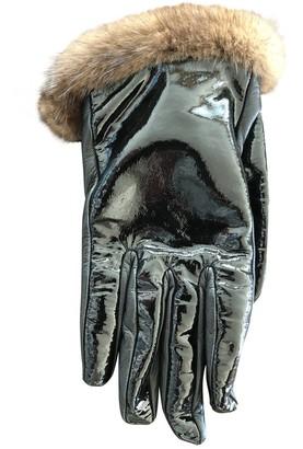 Loewe \N Black Patent leather Gloves