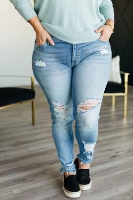 Shawna Destroyed Skinny Jeans