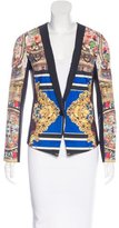 Clover Canyon Digital Print Fitted Jacket