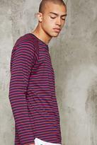 Forever 21 FOREVER 21+ Stripe Knit Tee