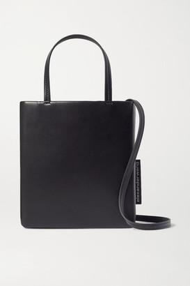 Alexander Wang She.e.o Mini Leather Tote - Black