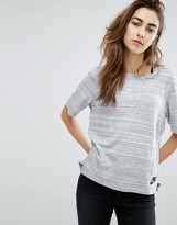 Nike Advance Knit Top In Grey