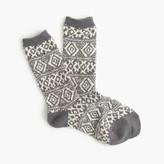 J.Crew Fair Isle trouser socks