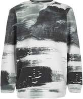 River Island Boys white smudge print sweatshirt