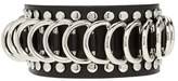 Forever 21 FOREVER 21+ Studded Faux Leather Bracelet