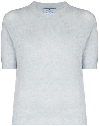 Prada Shetland fine knit top