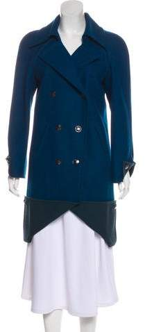 Chanel Wool Double-Breasted Coat