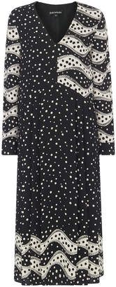 Whistles Mix And Match Spot Print Dress