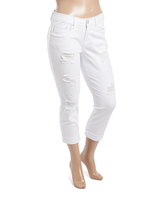 Dollhouse White Ankle Jeans - Plus