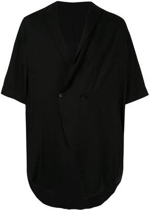 Julius oversized double-breasted shirt