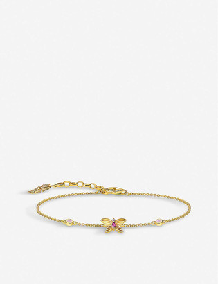 Thomas Sabo Magic Garden Gold Butterfly Bracelet