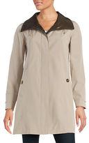 Gallery Petite A-Line Rain Coat