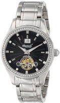 Ingersoll Women's IN5008BKMB Moise Analog Display Automatic Self Wind Silver Watch