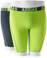 adidas Men's 2-pack ClimaCool Athletic-Fit Micro Mesh Performance Solid Midway Briefs