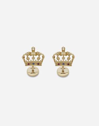 Dolce & Gabbana Crown Cufflinks