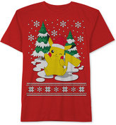 JEM Pokemon Merry Pikachu-Print T-Shirt, Little Boys (2-7)