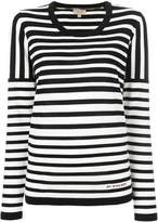 Burberry striped knitted top