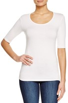 Majestic Filatures Scoop Neck Tee