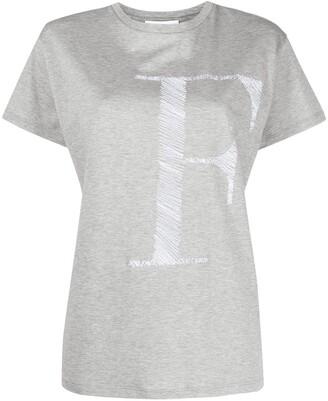 Fabiana Filippi logo-print T-shirt