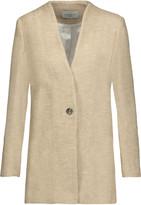 Sandro Margit cotton and linen-blend blazer