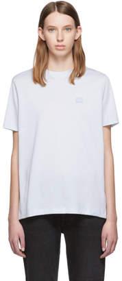 Acne Studios Blue Ellison Face T-Shirt