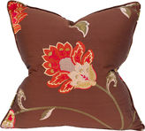 Barclay Butera Majestic 22x22 Embroidered Pillow, Brown