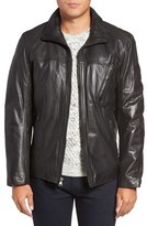 Andrew Marc Men's Plymouth Lightweight Leather Jacket