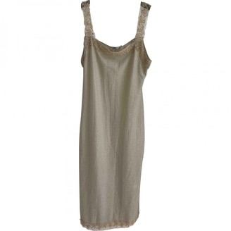 Anna Molinari Beige Dress for Women