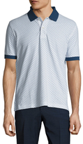 Brooks Brothers Pique Floral Slim Fit Polo