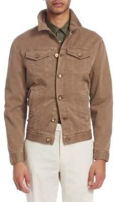 Brunello Cucinelli Denim Trucker Jacket
