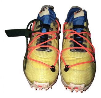 Nike x Off-White Vapor Street Yellow Cloth Trainers