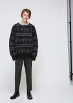 Dries Van Noten Black Tardos Sweater