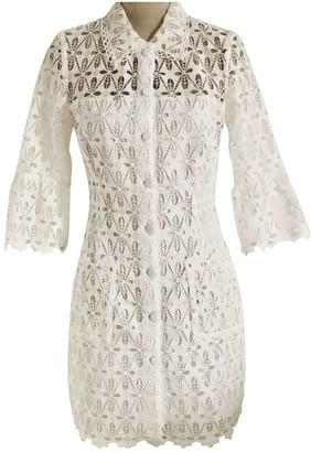 Sandro Spring Summer 2019 White Lace Dress for Women