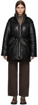 Nanushka Black Vegan Leather Lenox Jacket