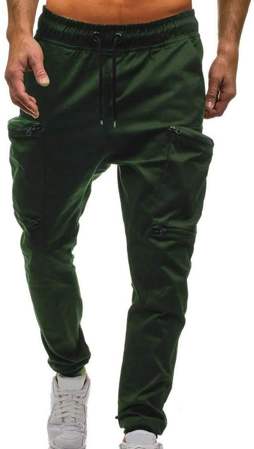 5b585fcf637b74 Tuxedos Theshy Mens Drawstring Classic Joggers Pants Zipper Pockets Sport  Sweat Pants