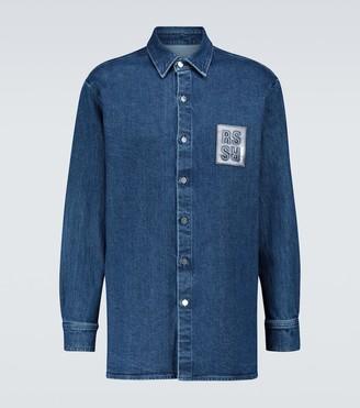 Raf Simons Slim-fit denim shirt