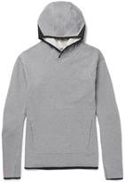 Nike - Nikelab Acg Mesh-trimmed Stretch-cotton Jersey Hoodie