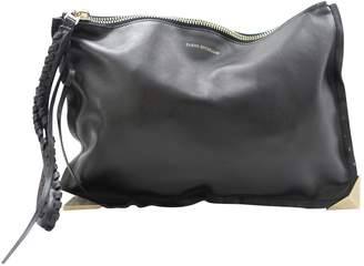 Elena Ghisellini Black Leather Clutch bags