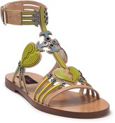 Valentino Broken Heart Open Toe Sandal