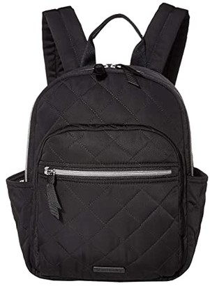 Vera Bradley Performance Twill Small Backpack (Black) Backpack Bags