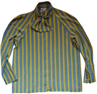 Rodier Multicolour Silk Top for Women Vintage