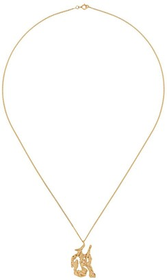 LOVENESS LEE snake Chinese zodiac necklace