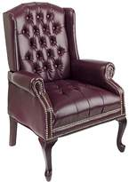 Office Star Products Traditional Queen Ann Style Chair